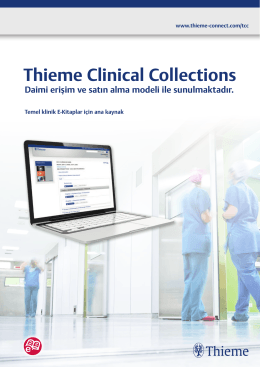 Thieme Clinical Colections