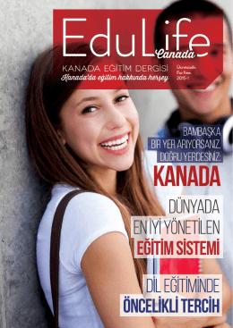 kanada - EduLife Canada Magazine