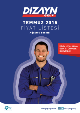 TEMMUZ 2015 - Dizayn Grup