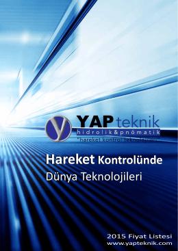 HareketKontrolünde - Yap Teknik Hidrolik & Pnömatik