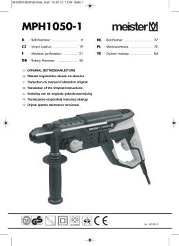 MPH1050-1 - Meister Werkzeuge