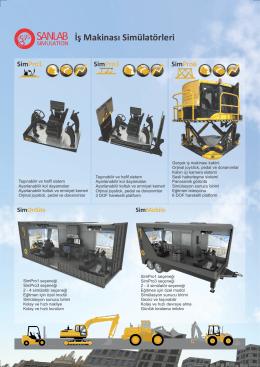 İş Makinası Simülatörleri