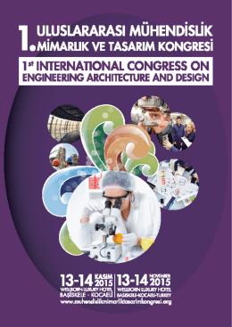 01 - 2.Uluslararası Mühendislik Mimarlık ve Tasarım Kongresi