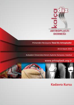Kadavra Kursu - artroplasti derneği