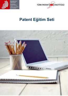 Patent Eğitim Seti