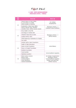 5. sınıf ünite değerlendirme sınavları listesi / türkçe