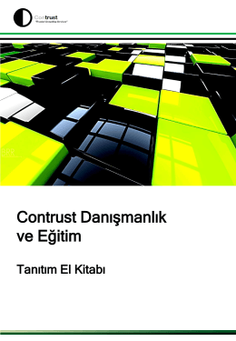 Contrust Danışmanlık ve Eğitim - Contrust İzmir Danışmanlık ve Eğitim