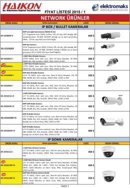 CCTV Kataloğu - Elektromaks Online
