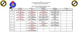 2015-2016 ders programı - Elbistan Meslek Yüksekokulu