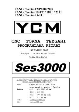 ycm cnc torna tezgahı programlama kitabı