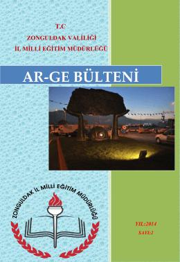 AR-GE BÜLTENİ - Zonguldak İl Milli Eğitim Müdürlüğü