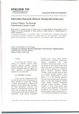 Diüretikli Dinamik Böbrek Sintigrafisi
