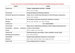 Kurs 2 Programı