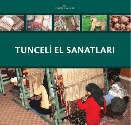 Tunceli El Sanatları - Tunceli`de Yatırım | Anasayfa