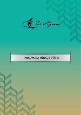 Kosova`da Türkçe Eğitim