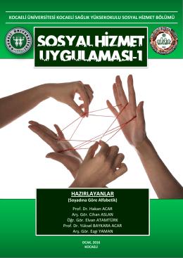 (SHB403) Yönergesi - Kocaeli Üniversitesi | Sosyal Hizmet Bölümü