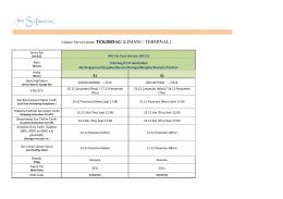 Liman/ Service point: TEKIRDAG (LIMANI / TERMINAL)