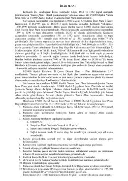 Kırklareli İli, Lüleburgaz İlçesi, Eskibedir Köyü, 1551 ve 1552 parsel