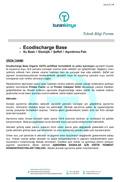 Ecodischarge Base