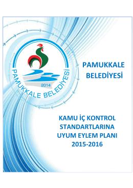 2015-2016 Eylem Planı - Pamukkale Belediyesi