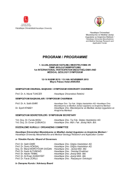 PROGRAM / PROGRAMME - International Ban Asbestos Secretariat