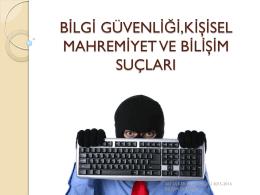 bilişim suçları - Ali Ülker Ortaokulu