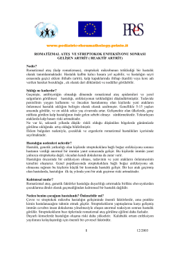 www.pediatric-rheumathology.printo.it 12/2003 1 ROMATİZMAL