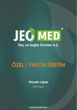 ÖZEL / FASON ÜRETİM