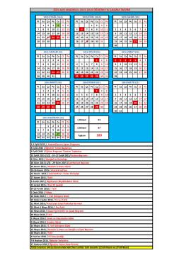 2015-2016 calisma takvimi ao