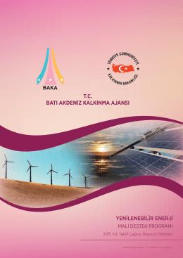 Yenilenebilir Enerji MDP Başvuru Rehberi
