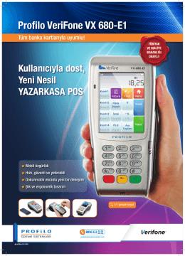 Profilo VeriFone VX 680-E1 Ürün Özellikleri