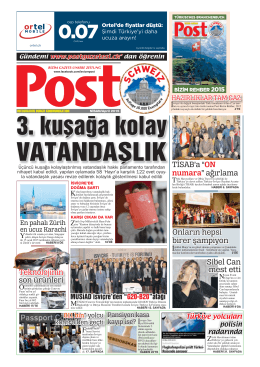 BERN - Post Gazetesi