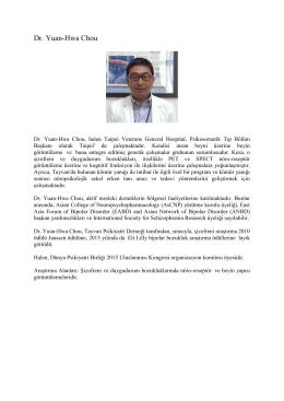 Devamını oku - 8. Uluslararası Psikofarmakoloji Kongresi