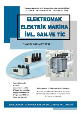 Katalog - elektromak