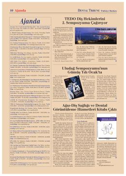 Ajanda - Dental Tribune International