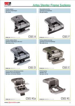 C501 A C501 F C501 D C501 E C501 H1a C501 H1