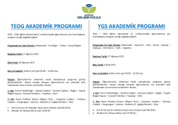 2015 Yılı Erasmus Projemiz
