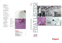 Legrand 2015 Eylül Fiyat Listesi (12 MB, PDF)