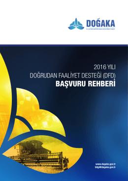 2016 Yılı Doğrudan Faaliyet Desteği Programı Rehberi