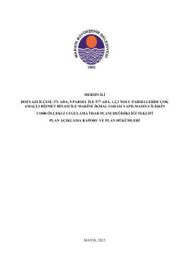 1000 - Mersin Büyükşehir Belediyesi