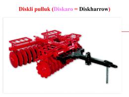 Diskli pulluk (Diskaro = Diskharrow)