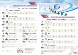 PD Fittings Fiyat Listesi için Tıklayınız..