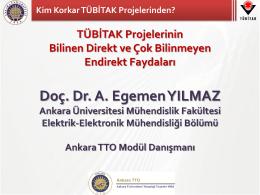 Doç. Dr. A. Egemen YILMAZ