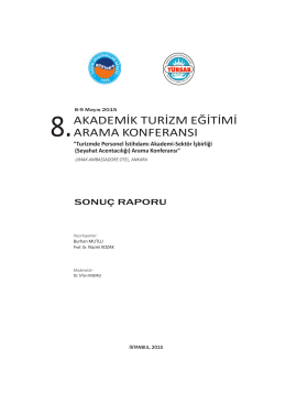 VIII. Konferans Kitabı