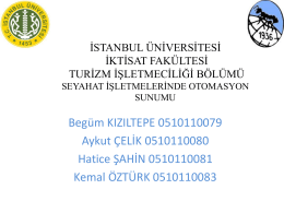 ELİTEMA ONLİNE TATİL SATIŞ SİSTEMİ (Tourkuaz)