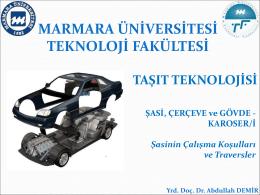 Chassis frames - Abdullah Demir