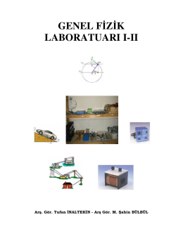 Genel Fizik Laboratuarı 1-2