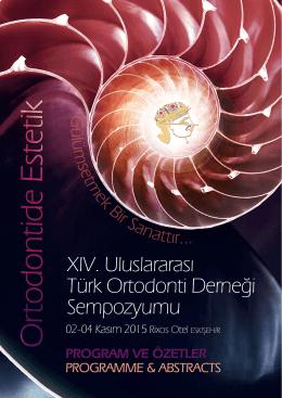 14. Sempozyum - Türk Ortodonti Derneği