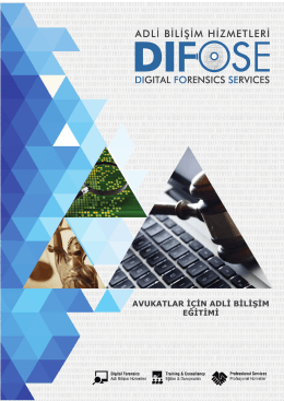 eğitim broşürü son hal - Difose | Adli Bilişim Hizmetleri
