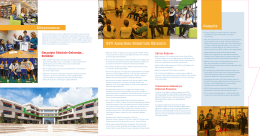 okul broşürü - SEV Amerikan Koleji